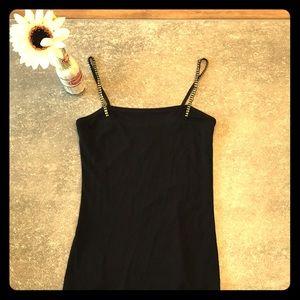 EXPRESS Black & Studded Cami